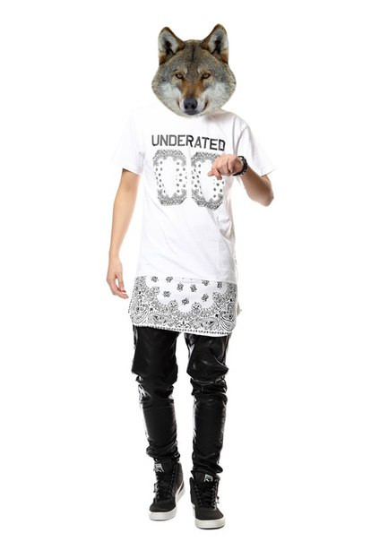 Длинная футболка UNDERATED 00