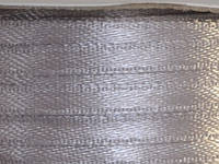 Тесьма атласная 3 мм серая св. 99 ярд.