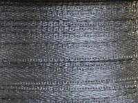 Тесьма атласная 3 мм серая  99 ярд.