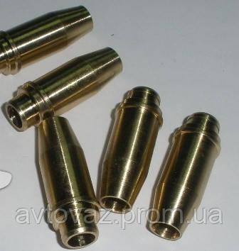 Направляющие втулки клапанов Латунные ВАЗ 2110, ВАЗ 2111, ВАЗ 2112, ВАЗ 1118 Калина, ВАЗ 2170 Приора 16 шт.