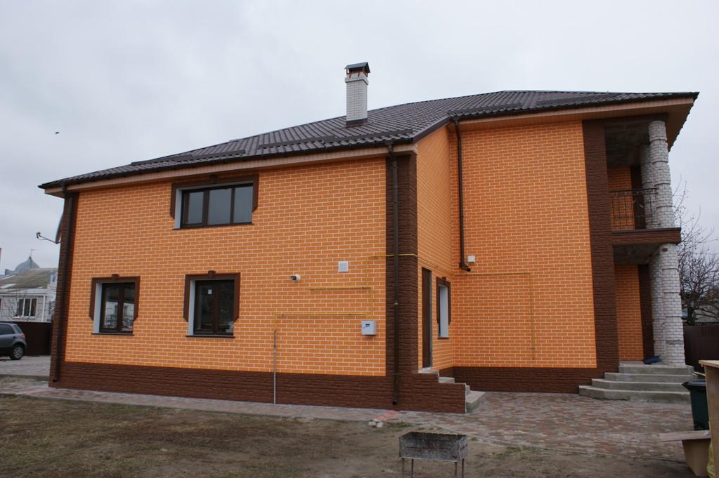 Утепление фасада в Борисполе. 2
