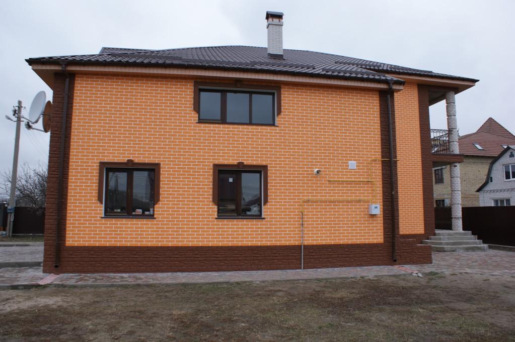 Утепление фасада в Борисполе. 3