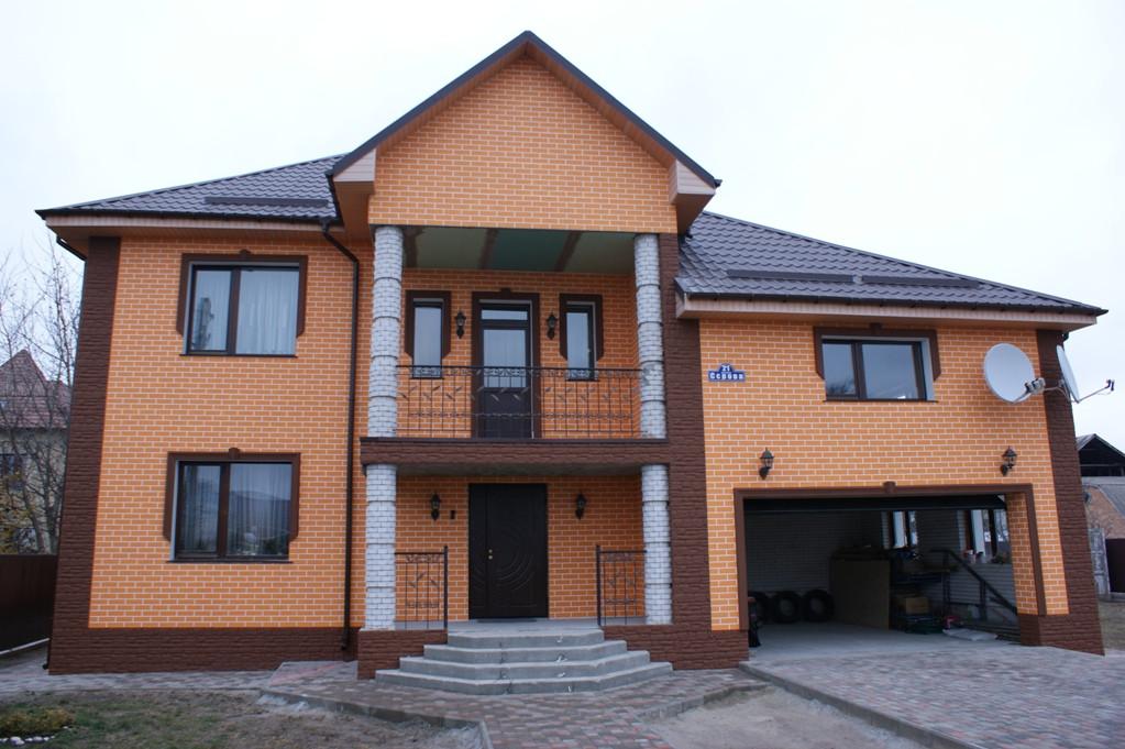 Утепление фасада в Борисполе. 4