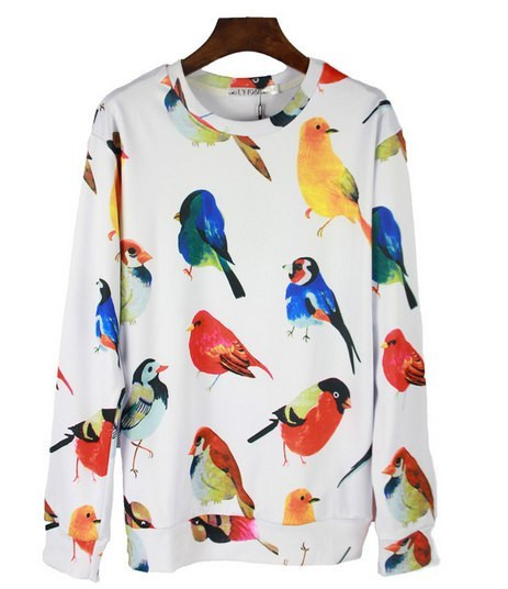 Свитшот Птицы