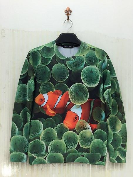 Свитшот Рыбы