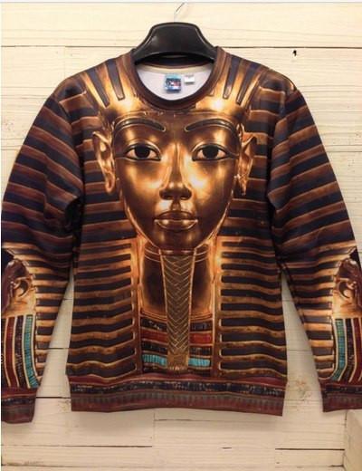 Свитшот с золотым Фараоном