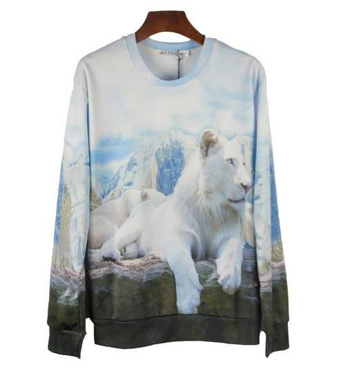 Свитшот Белый лев