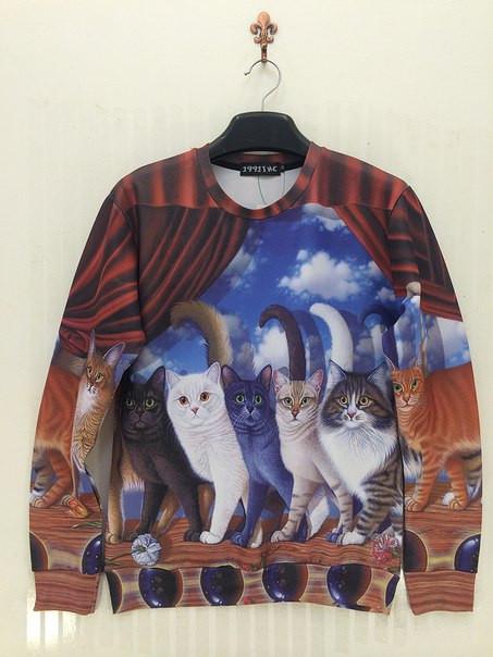 Свитшот с котами