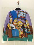 Свитшот симпсоны на диване, фото 2