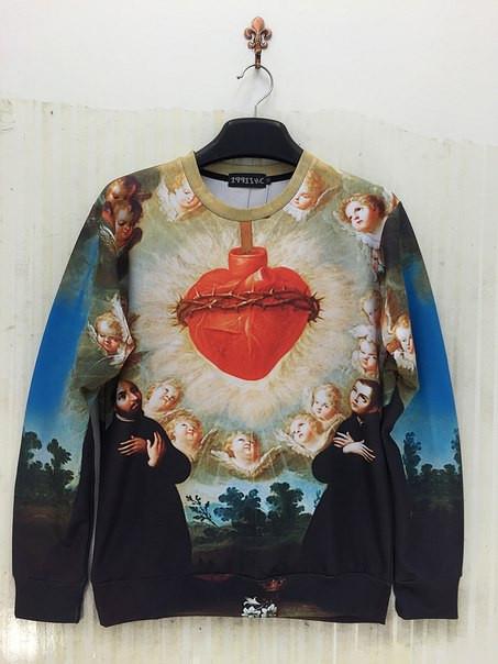 Свитшот Сердце