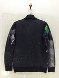 Черный свитшот с радугой, фото 2