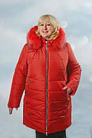 Женская зимняя куртка больших размеров, фото 1