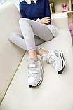 Женские кроссовки сзади с шипами, фото 2