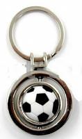 Брелок М'яч футбольний C-4968 (метал хромований)