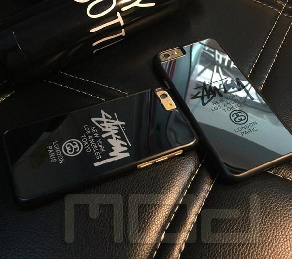 Зеркальный чехол stussy/new york для iPhone 5/5s, 6/6plus