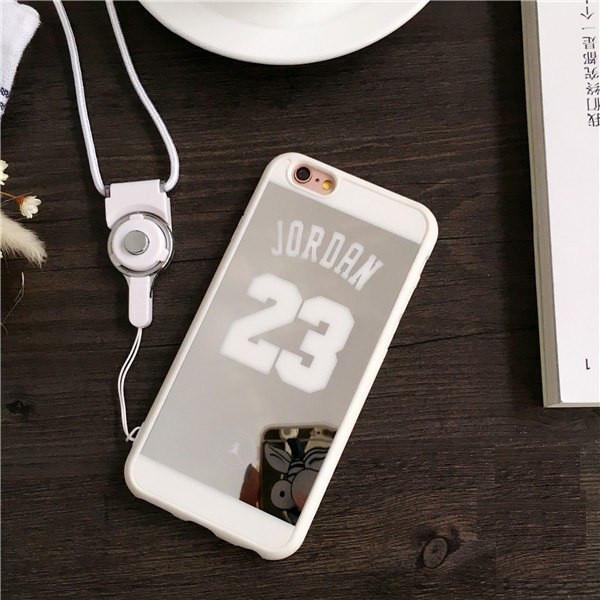 Зеркальный чехол Jordan 23 для iPhone