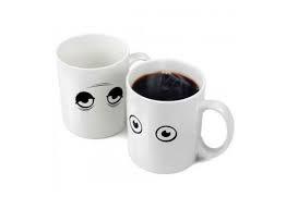 Чашка хамелеон Глазки