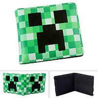 Кошелек Minecraft Шахты Creeper