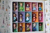Подарочный большой набор Дисней аниматорс мини. 15 кукол в наборе.