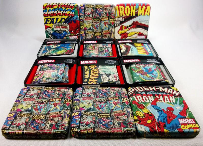 Кошелек Марвел Комиксы Marvel Comics