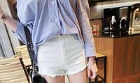Женские классические шорты с высокой талией
