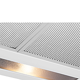 Pyramida WH 22-50 white/N (500 мм.) двухмоторная, плоская кухонная вытяжка, белая эмаль Коричневый, фото 3