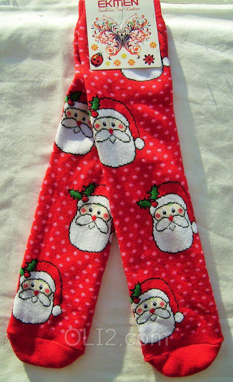 Мужские новогодние рождественские носки