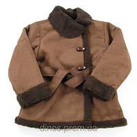 Детская куртка-дубленкаWojcik(Войчик) Telefon, размер 128.134.140.146.152