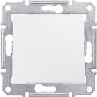 SHNEIDER ELECTRIC SEDNA Выключатель одноклавишный IP44 Белый