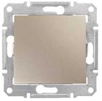 SHNEIDER ELECTRIC SEDNA Выключатель 2-х полюс. одноклавишный 16А Титан