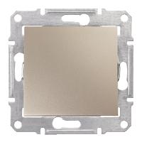 SHNEIDER ELECTRIC SEDNA Выключатель проходной одноклавишный 10А Титан