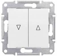 SHNEIDER ELECTRIC SEDNA Выключатель для жалюзи с электр. блокировкой Слоновая кость