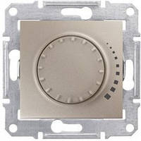 SHNEIDER ELECTRIC SEDNA Светорегулятор индуктивный поворотный Титан