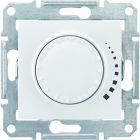 SHNEIDER ELECTRIC SEDNA Светорегулятор индуктивный проходной поворотно-нажимной Белый