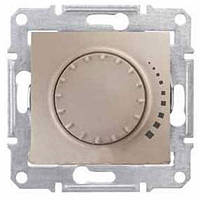 SHNEIDER ELECTRIC SEDNA Светорегулятор индуктивный проходной поворотно-нажимной Титан