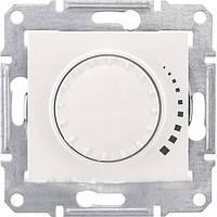 SHNEIDER ELECTRIC SEDNA Светорегулятор емкостный поворотный Белый