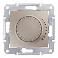 SHNEIDER ELECTRIC SEDNA Светорегулятор емкостный поворотный Титан