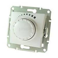 SHNEIDER ELECTRIC SEDNA Светорегулятор емкостной проходной поворотно-нажимной Белый