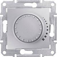 SHNEIDER ELECTRIC SEDNA Светорегулятор емкостной проходной поворотно-нажимной Алюминий