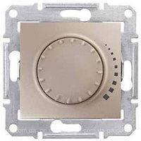 SHNEIDER ELECTRIC SEDNA Светорегулятор емкостной проходной поворотно-нажимной Титан