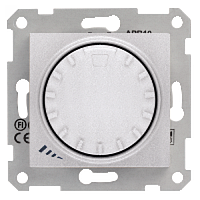SHNEIDER ELECTRIC SEDNA Светорегулятор универсальный поворотно-нажимной Алюминий