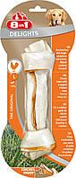 8in1 Delights L (21см) кость для чистки зубов у собак с вкусом мяса