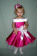 Корсетное платье для девочки в ретро стиле
