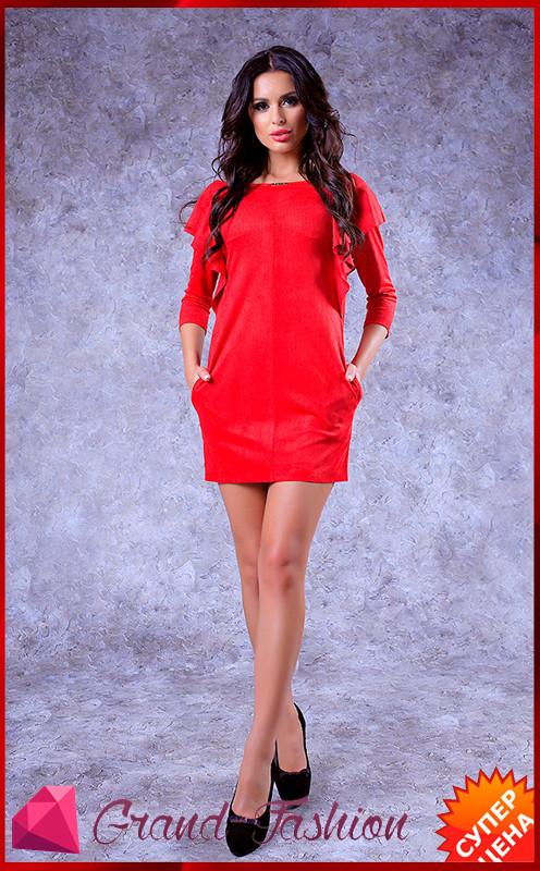 """Платье """"Milan"""" -  красный"""