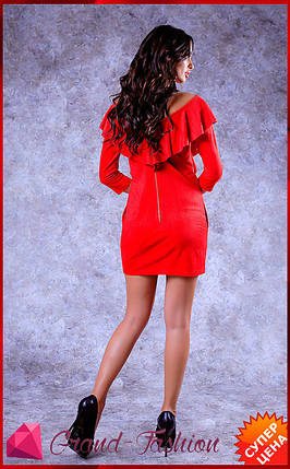 """Платье """"Milan"""" -  красный, фото 2"""