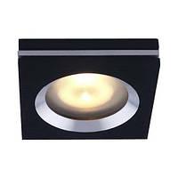 Встраиваемый светильник Feron DL151 черный алюминий