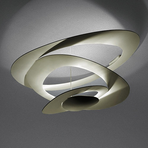 Artemide Pirce Ceiling LED - White 1253110A / Gold 1253120A / Black 1253130A
