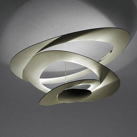 Artemide Pirce Ceiling LED - White 1253110A / Gold 1253120A / Black 1253130A