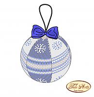 """Схема для вышивания бисером Tela Artis Шар """"Морозное утро"""" В-011"""