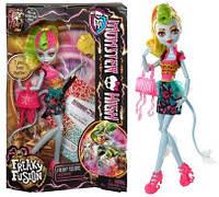 Кукла Monster High Freaky Fusion Lagoonafire Doll. Лагунафаер Чумовое слияние